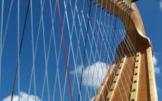 Cross-strung Chromatic Harp